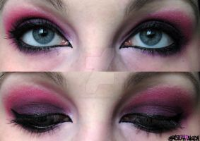 cheshire cat makeup by Breathtaken