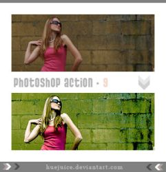 Photoshop Action 9 by huejuice