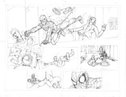 Spider-man Pages 5 and 6 by JBEmmett