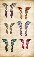 Fae Wings Pack by Just-A-Little-Knotty