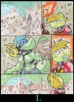 The Moon Cheese Mountain. P1. by Virus-20
