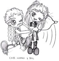 Chibi Marko and Paul by HIT-File-Murdoc