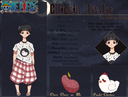 |ONE PIECE OC| Chickin Jayjay by mauururu