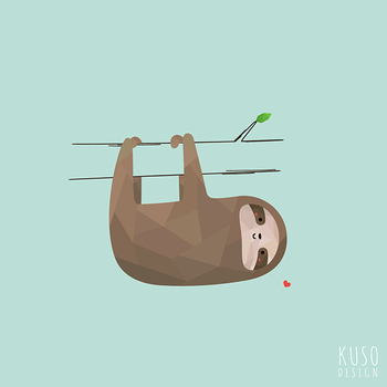 Sloth by kusodesign