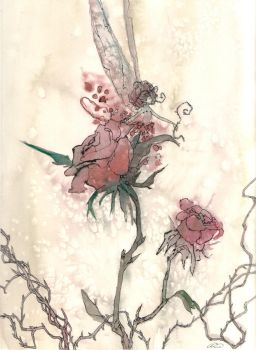 Faery Stories: The Rose by maina