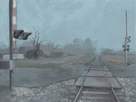 Railway to Infinity by F33R-the-B33R