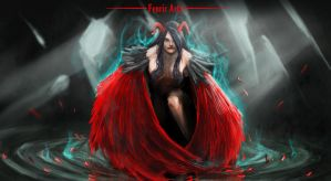 Red Angel by Fenrir--the-2nd