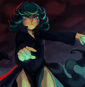 One Punch Man - Tatsumaki by ArtofCelle
