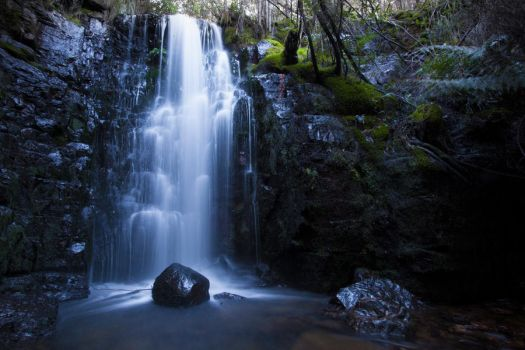 O'Grady's Falls, Mt Wellington by abenham