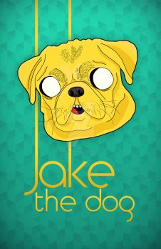 Jake the dog by matheusantos