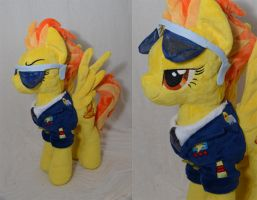 Captain Spitfire Plush by makeshiftwings30