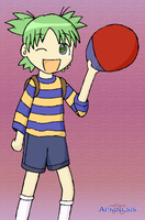SSBA: Yotsuba as Ness by Apkinesis