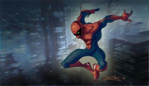 Spider Jump by redrab8t