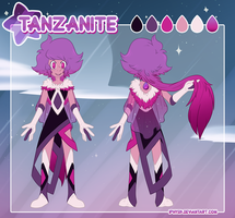 Tanzanite Character Sheet by iPhysik