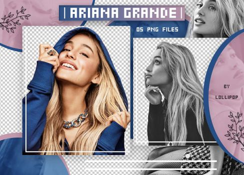 PNG PACK (CELEBRITY) #26 : ARIANA GRANDE by lollipop3103
