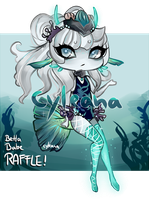 Mermay Gleamstic Raffle - Betta babe! WINNER OUT!! by Cyleana