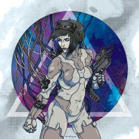 Ghost In The Shell by andreask84