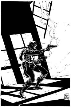 Mike Mignola's Lobster Johnson by MinckOosterveer