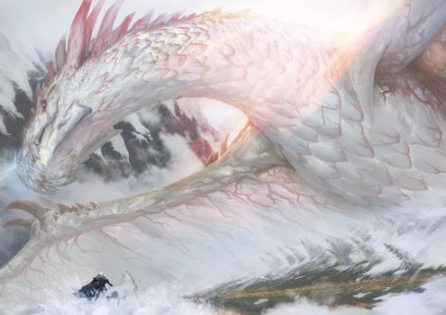 Sonagon, Dragon of the North (ASOIAF Fanfic Art) by serpentguy