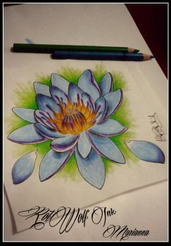Loto Flower by rotwolf93