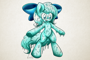 Shiny The Slime. by Extra-Dan