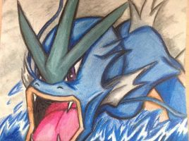 Oh Noes A Wild Gyarados D: by McwitherzBerry