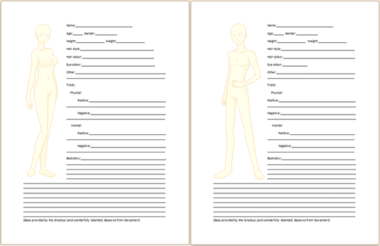 Blank bios or refs on oc interviews deviantart b4ng4r4ng 56 15 virtues and vices character creation sheet by silversilentwhisper pronofoot35fo Gallery
