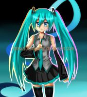 Vocaloid- Hatsune Miku by BillieKlemm