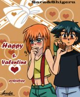 pokesh Valentine.s day by sara by Sara-Sakurahime