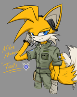 Tails the Airman by oLEEDUEOLo