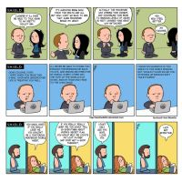 TLIID 223. Agents of SHIELD, Peanuts style. by AxelMedellin