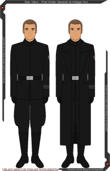 Star Wars - First Order General Hux's Uniforms by Grand-Lobster-King