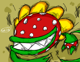 Petey Piranha by diggitfireball