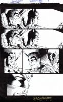 TEEN TITANS 88 Pg 17 BATMAN + ROBIN Nicola Scott by DRHazlewood