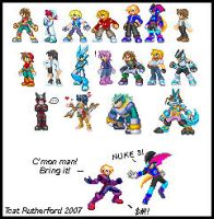 RtS cast Sprites by tcat