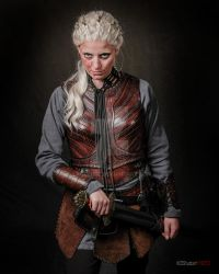 Torvi cosplay leather armor viking by Lagueuse
