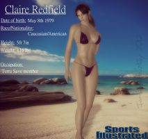 S.I Swimsuit Edition- Claire Redfield by IamRinoaHeartilly