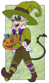Little Witch Craig by RottingRoot