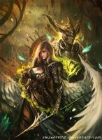 CM: Maelstrom [Bookcover] by shizen1102
