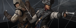 Connor and Aveline by B-Dunn