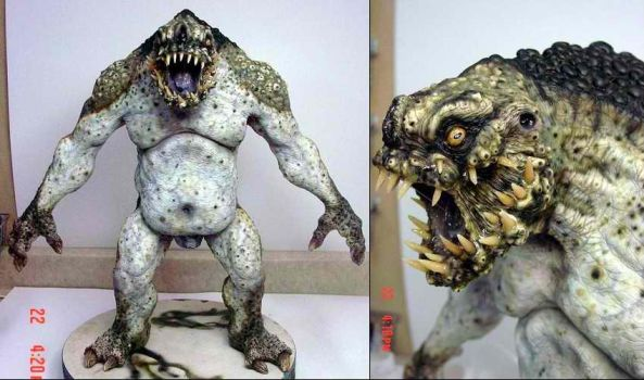 Troll maquette by Caseylovedesigns