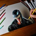 Drawing Venom by marcellobarenghi