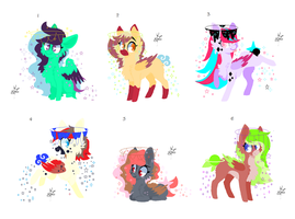 Lunar Dream Pony Adopts (closed) by PsychoBerries
