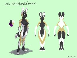 Delu Fur Pattern Reference by FlyingRam