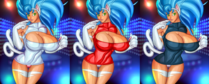 Felicia Keyhole sweater-Color Variations by DieHard300