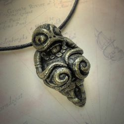 The Venus of Innsmouth Necklace by CthulhuJewellery