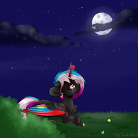 Flaming Rainbow [AT] (ReDraw) by TwinkePaint