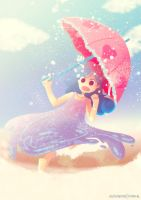 Juvia and the Four Seasons by astrayeah