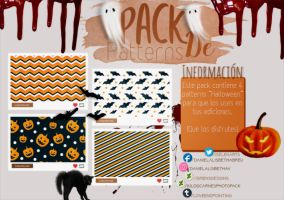~.Pack de Patterns #24 {Halloween} by ISirensDesigns
