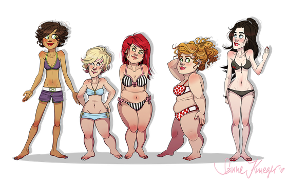 body positivity by starsandpolkadots